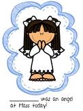 Angel Behavior at Mass Certificate Bundle!