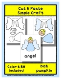 Angel - Cut & Paste Craft - Super Easy perfect for Pre-K &