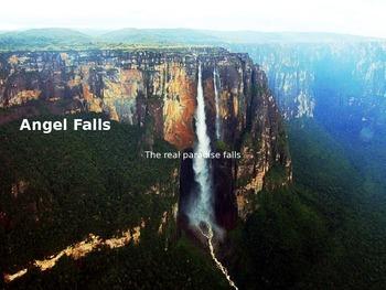 Angel Falls - Powerpoint