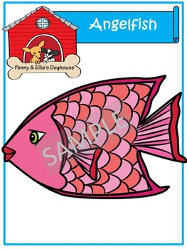 Angelfish *Penny & Ellie's Doghouse Clipart*
