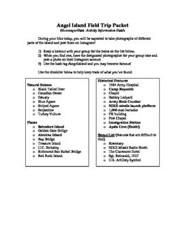 Angel Island Worksheets & Teaching Resources   Teachers Pay ...