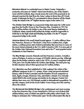 Angel Island State Park Historic Scavnger Hunt