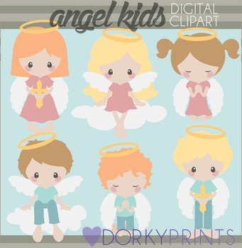Angel Kids Clipart
