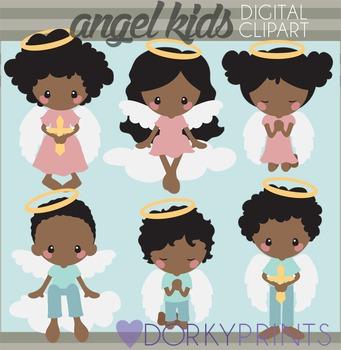 Angel Kids Clipart