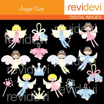 Angel Kids Clip art
