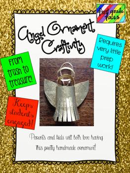 Angel Ornament Craftivity