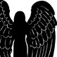 Guardian Angel Clipart Images, Christmas Angel Silhouettes, Children, Babies