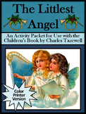 Christmas Reading Activities: The Littlest Angel Activity Packet - Color