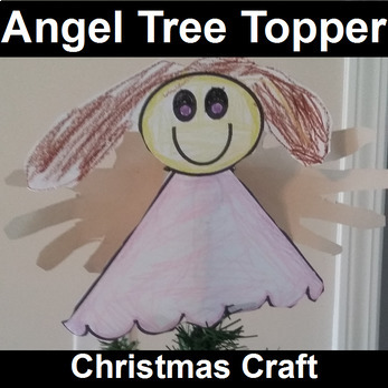 Angel Tree Topper Craft