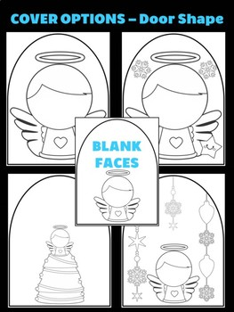Angel with Bell & Stars - Moonju Makers for Activities Decor, Christmas Winter