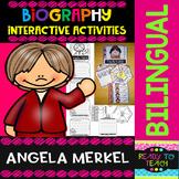 Angela Merkel - Interactive Activities - Dual Language