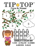 Angela's Color by Number: Beginner Apples Stage 2