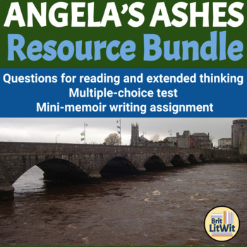 Angela's Ashes (Frank McCourt) Mini-Unit Bundle