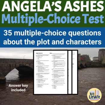 Angela's Ashes (Frank McCourt) Test with Key