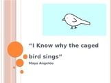 """Angelou's """"I Know Why the Caged Bird Sings"""" PowerPoint"""