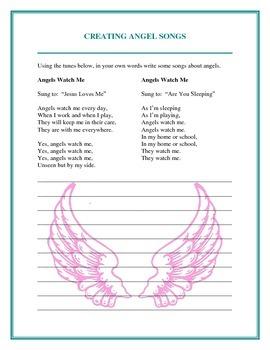 Angels - Handouts and Activites