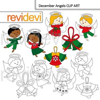 Angels clip art
