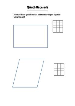 Angles of a Quadrilateral