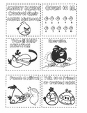 Anger- Angry Birds Control Their Anger- Mini Booklet