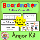 Anger / Behaviour Interactive Kit - Boardmaker Visual Aids for Autism SPED