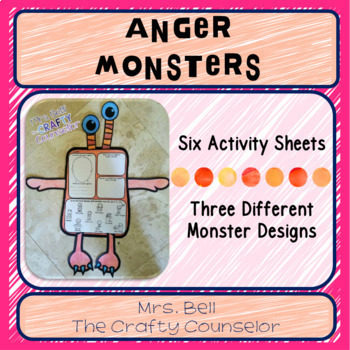 Anger Bundle (calm down tools, helping kids work through anger, anger resources)