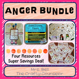 Anger Bundle (calm down tools, anger resources)