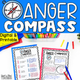 Anger Compass for Anger Management for Google Classroom Di