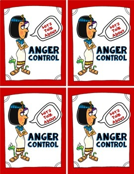 Anger Control Cards