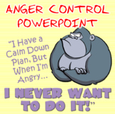 Anger Control PowerPoint - Calming Down the Angry Gorilla