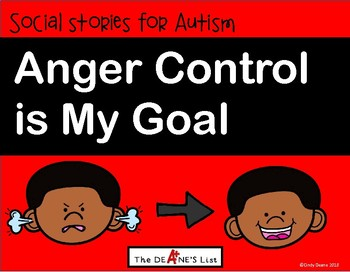 Anger Control is My Goal
