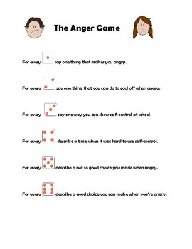 Anger Dice Game