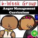 Anger Management Counseling Group or Individual Curriculum
