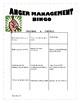 Anger Management BINGO boards