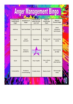 health and wellness bingo teaching resources teachers pay teachers