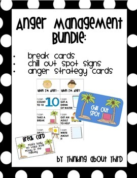 Anger Management/Self-Control Bundle