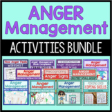 Anger Management Activities Bundle {Save 20%!}