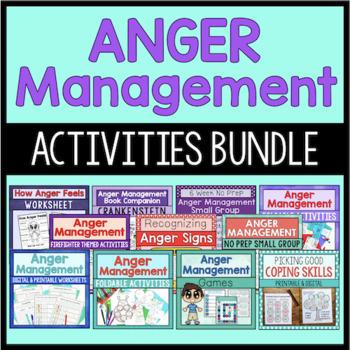 Anger Management Bundle {Save 20%!}