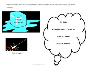 Anger Management; Calming Down; Even Spiderman Has Rough Spots