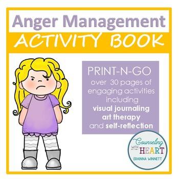 Social Emotional Learning Anger Management Activity Book (Print-N-Go)