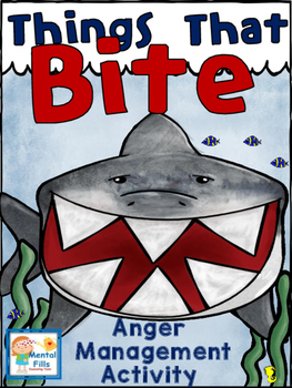 ANGER Management Interactive Cut & Paste Activity: Things That Bite