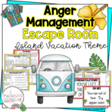 Anger Management Escape Room Activity Game Escape From Anger