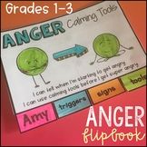 Anger Management - Mini Flipbook and Bookmarks