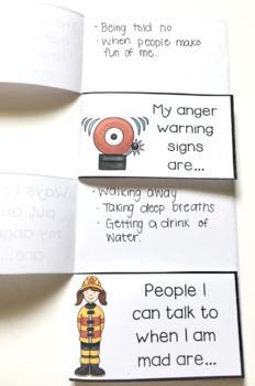 Anger Management Foldable Activity Freebie