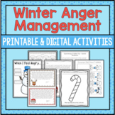 Anger Management Activities - Winter Themed