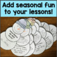 Anger Management Packet - Winter Themed