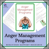 Anger Management Programs - 6 pages - Variety of Programs