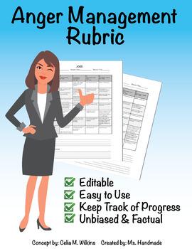 Anger Management Rubric