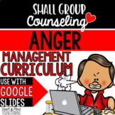 Anger Management Small Group Counseling Curriculum; SEL lessons; Angry; Temper