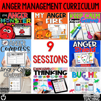 Anger Management Small Group Counseling Curriculum