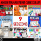 Anger Management Small Group Counseling Curriculum; SEL le